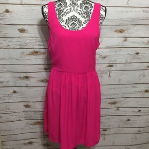 American Eagle Outfitters Hot Pink Summer Dress